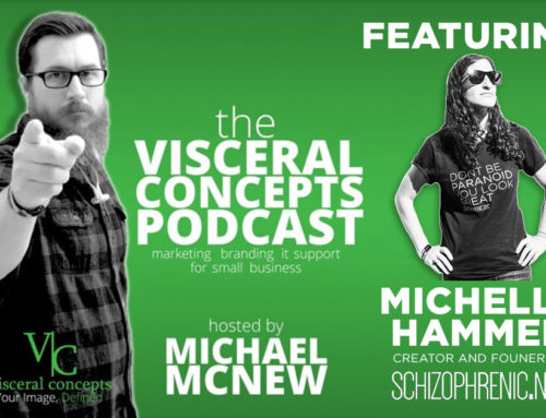 Visceral Concepts Podcast Featuring Michelle Hammer