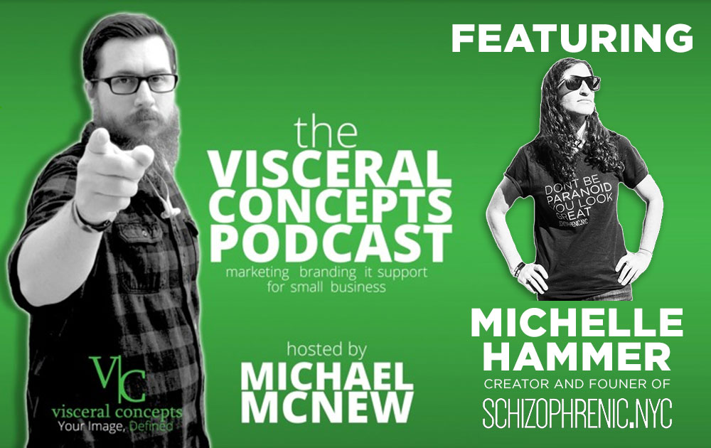 Visceral Concepts Podcast Featuring Michelle Hammer 1