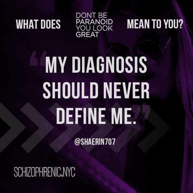 my diagnosis should never define me
