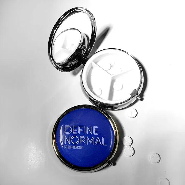 Define normal pillbox