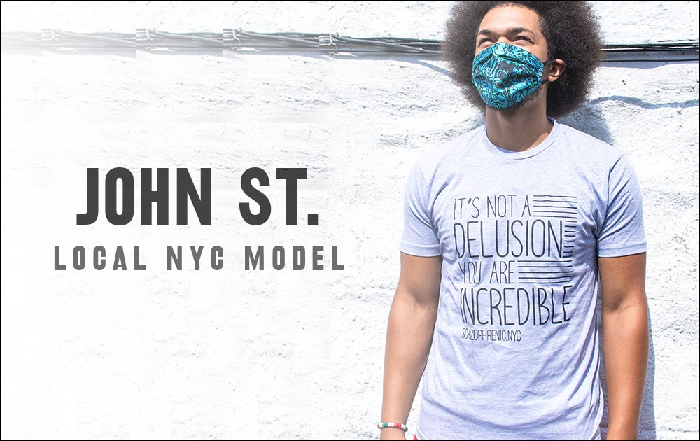John St. Model for Schizophrenic.NYC