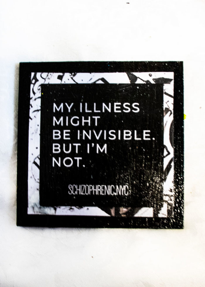 my illness might be invisible but im not