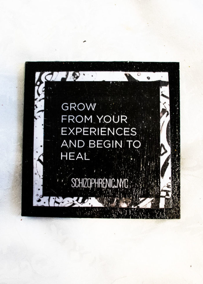 grow from your experiences and begin to heal