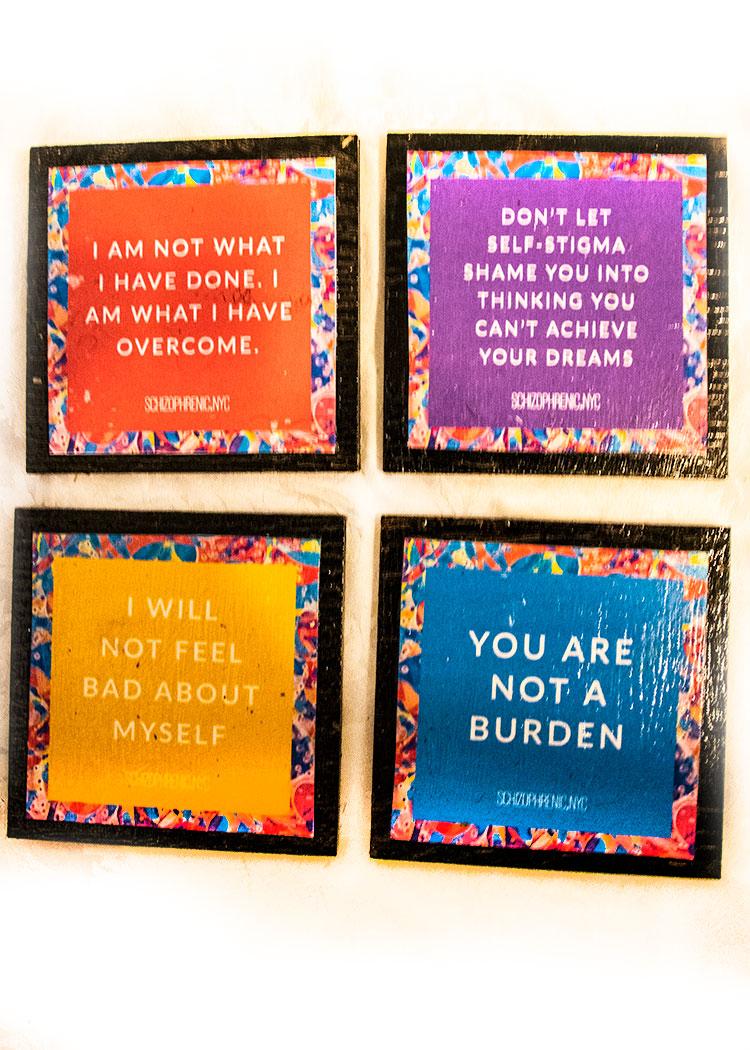 Coaster Set 15 quote set 2