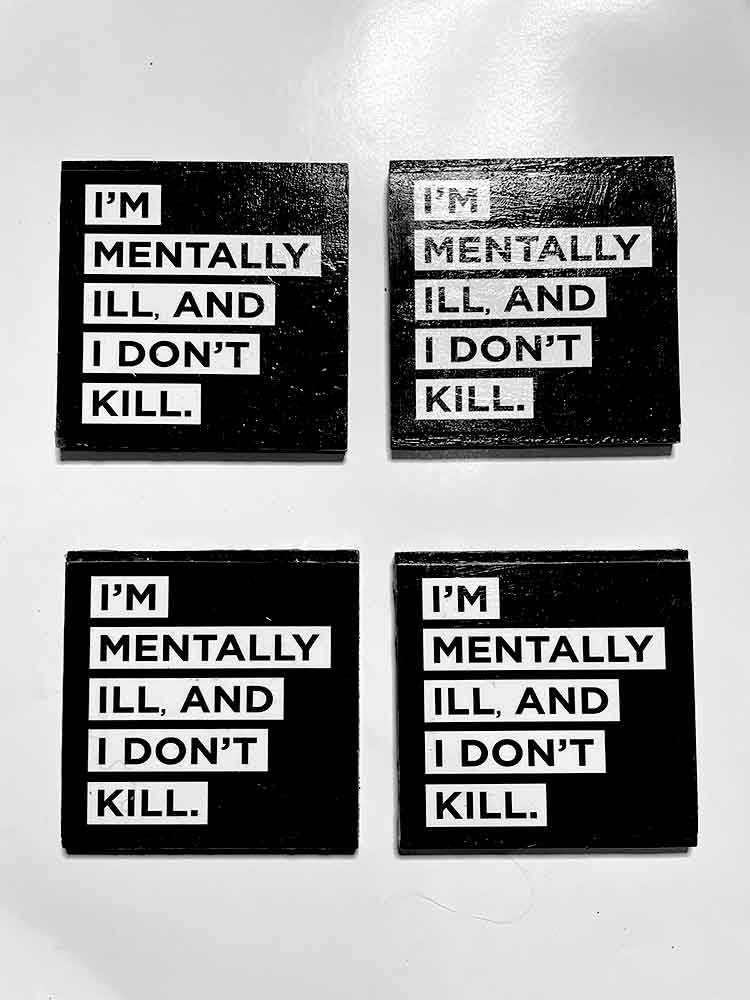 Mental health coasters