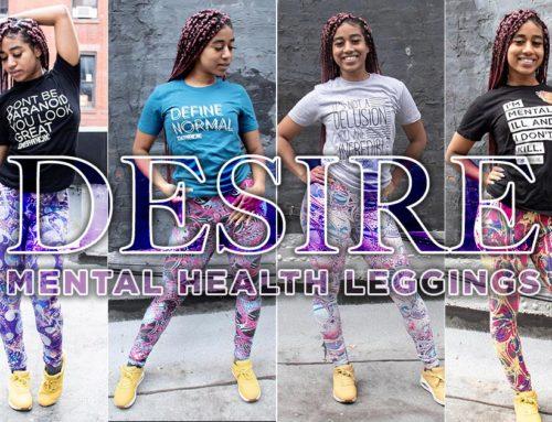 Mental Health Leggings Photoshoot