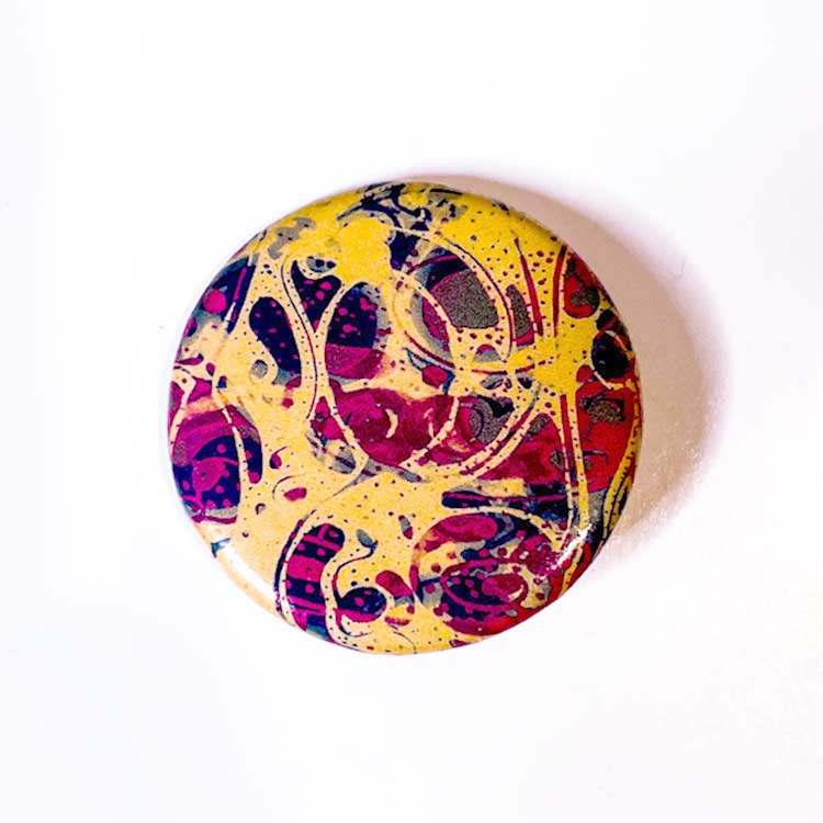 Mental health artwork buttons