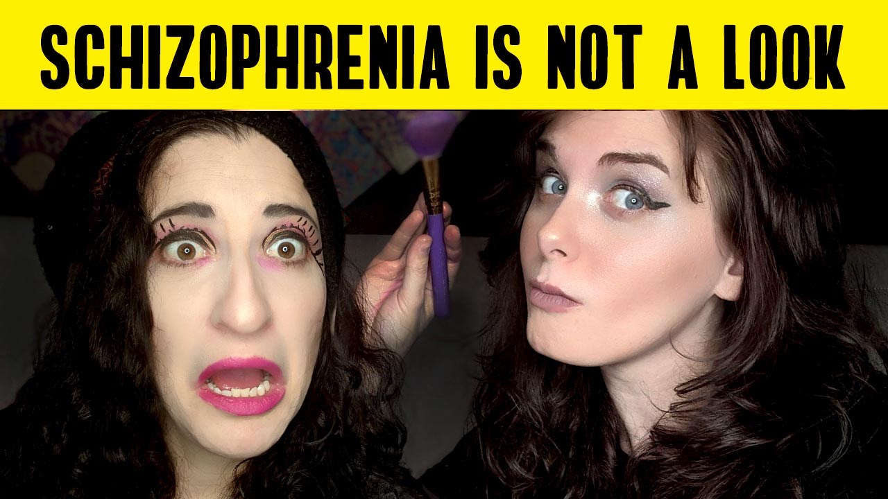 Schizophrenia is not a look