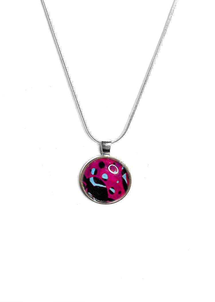 Mental health artwork necklace