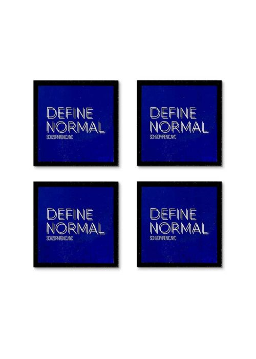 define normal mental health coaster set