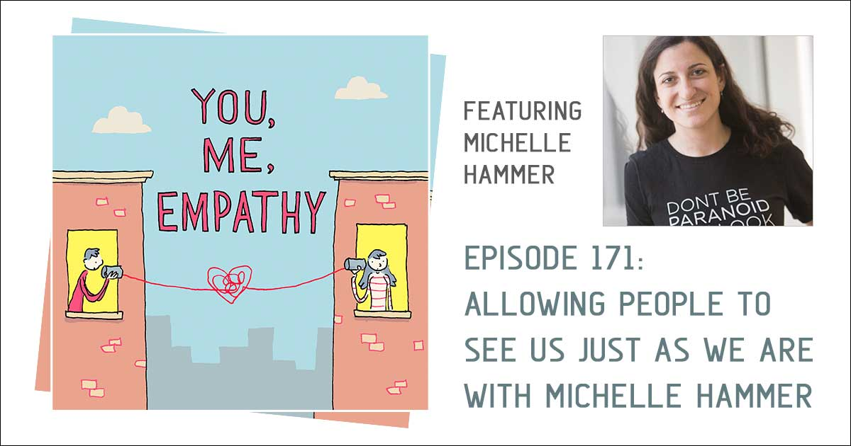 Michelle talks schizophrenia on you me empathy podcast